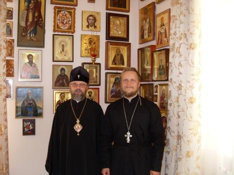 встреча с архиепискомом Августином во Львове