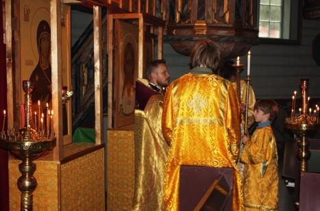 Божественная Литургия в день праздника