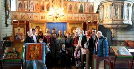 Приход Анны Новгородской в Тронхейме на празднование Покрова Богородицы