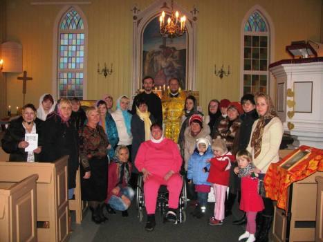 Литургия в Альте, православная община