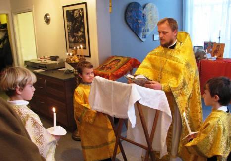 православные богослужения в Тромсё