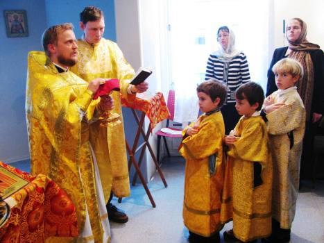 Литургия в Тромсё 14 ноября 2009
