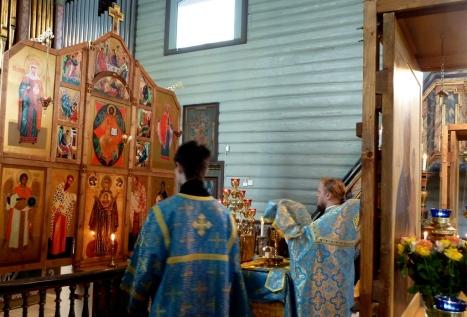 Божественная литургия на Благовещение