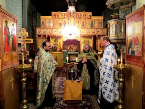 Приветственное слово иерея Александра прихожанам и гостям