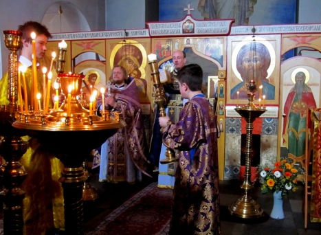 Божественная литургия в день Торжества Православия в Осло