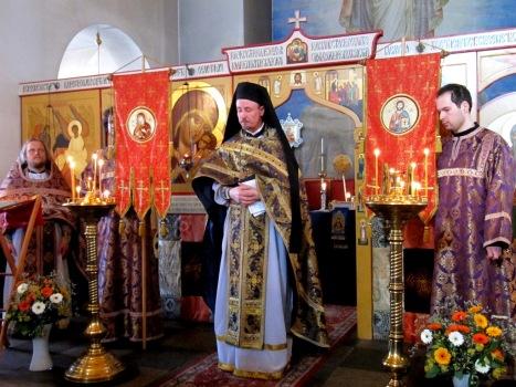 Поздравительное слово настоятеля прихода игумена Климента в день праздника