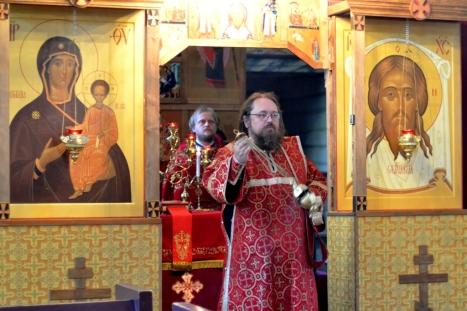 Каждение на Божественной литургии