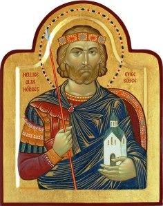 Hl Olav ikon