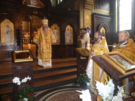 Поздравительное архипастырское слово епископа Агапита Штутгартского