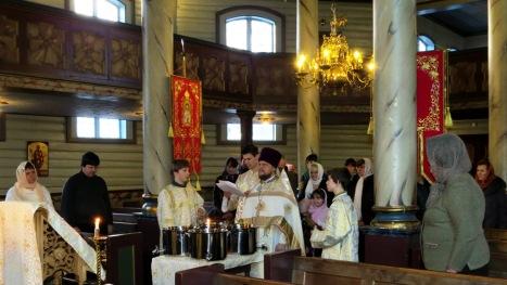 Великое водоосвящение в Тронхейме на праздник Крещения Господня