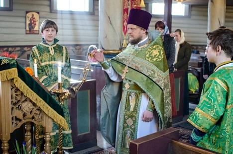 Величание святой княгине Анне Новгородской пред ее иконой