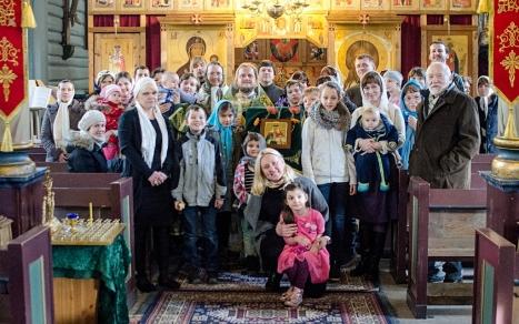 Общая фотография после богослужения