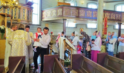Причащение на Божественной литургии