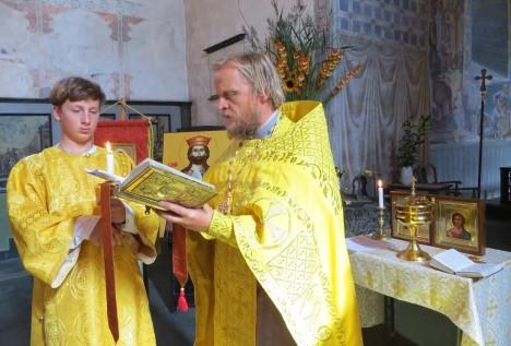 Молебен в Стиклестад кирке