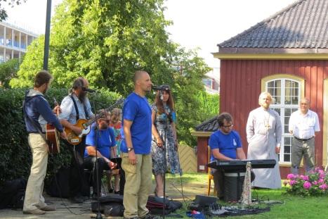 Концерт для прихожан православной группы из Подмосковья, Богородск