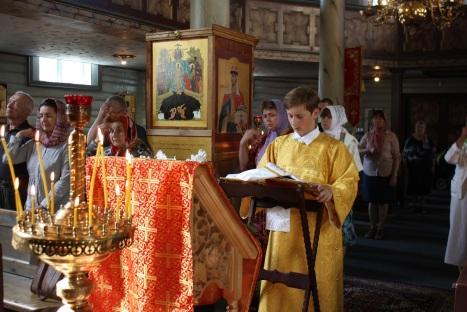 Чтение праздничного Апостола на литургии