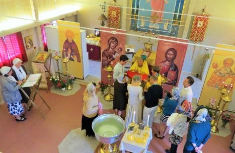 Причащение Святых Христовых Таин