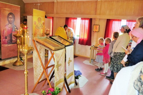 Исповедь перед началом богослужения