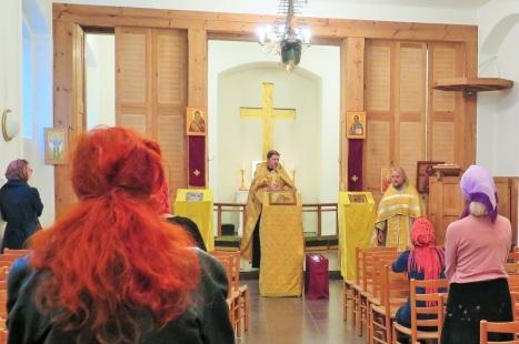 Приветственное слово после акафиста святому Александру Невскому