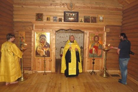 Молебен на церковное новолетие в храме св.Олава в Стиклестаде