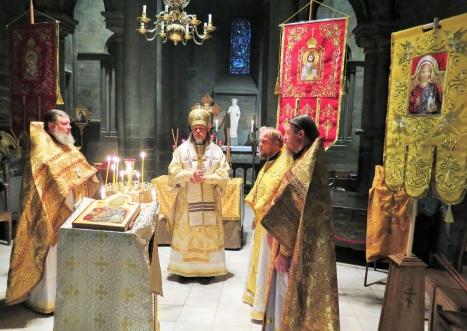Божественная литургия в соборе Нидаросдомен в Тронхейме