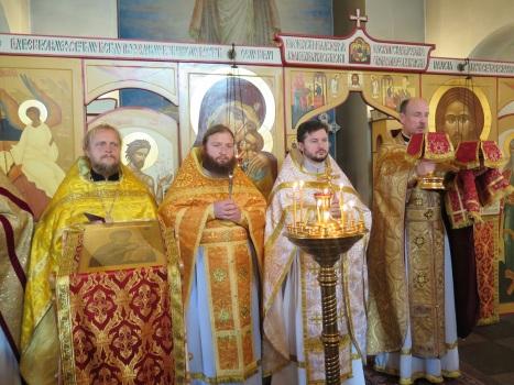 Соборное служение литургии 28 сентября в Осло