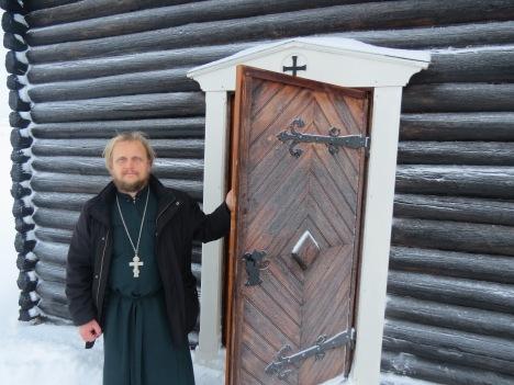 Иерей Александр Волохань, настоятель прихода в Тронхейме
