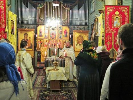 Проповедь настоятеля о значении праздника Богоявления