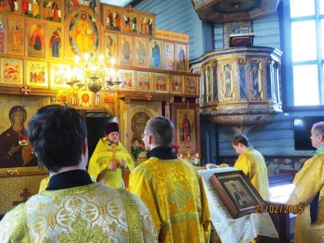 Проповедь настоятеля о житии святой Анны Новгородской