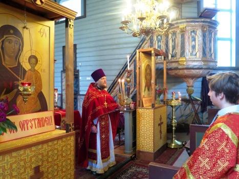 Божественная литургия в субботу Светлой седмицы