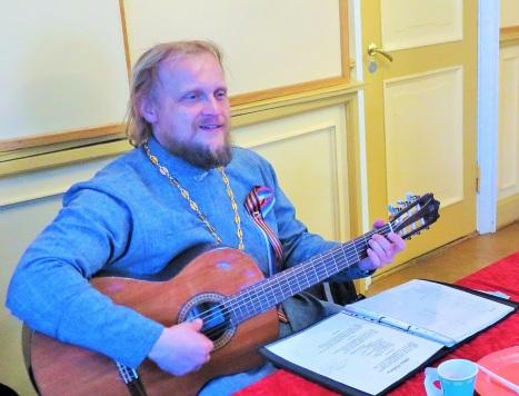 Песни военных лет под гитару