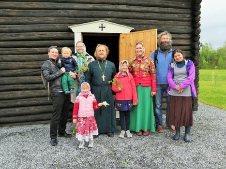Гости нашего прихода из Москвы - прежние прихожане Тронхейма