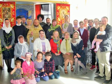 Православная община г.Тромсе в Троицкую субботу 2015 г.
