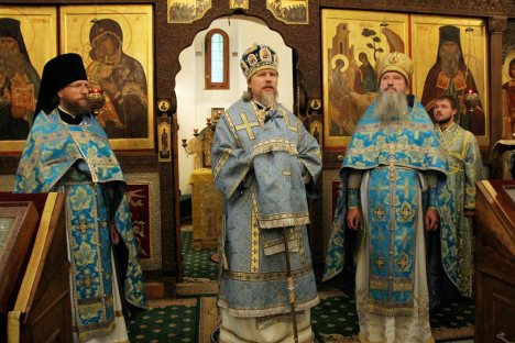 Представление бывшего и нынешнего глав Русской Духовной Миссии в Иерусалиме