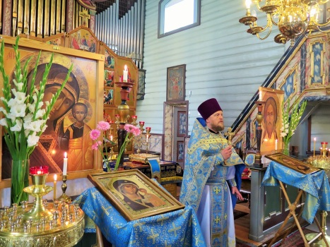 Праздничная проповедь настоятеля
