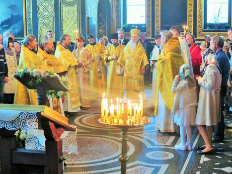 Молебен святому Александру Невскому
