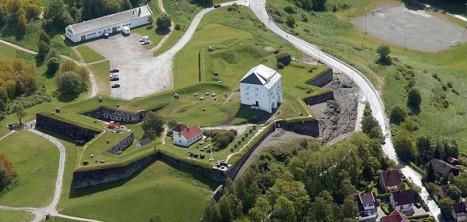Крепость в Тронхейме Kristiansten festning