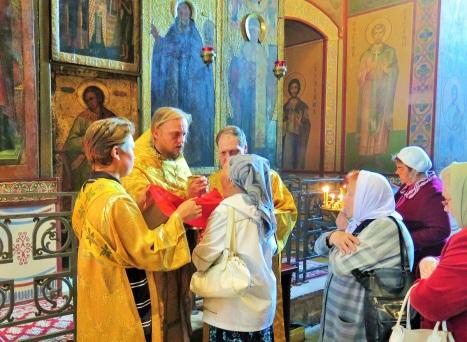 Литургия в Софийском соборе Великого Новгорода