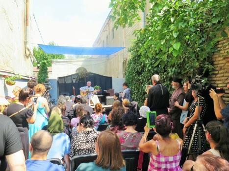 Концерт православных песен в Тбилиси