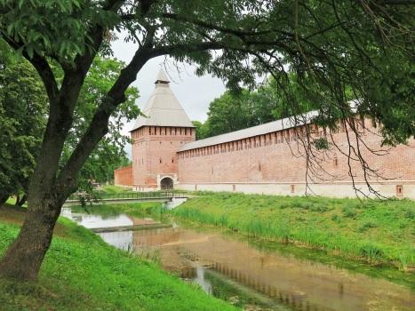 Крепостная стена Смоленска