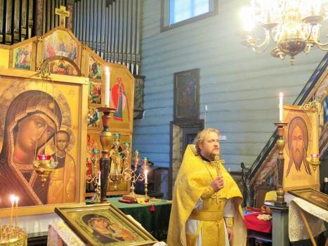 Проповедь батюшки в день праздника