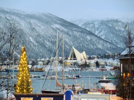 Городской ландшафт Рождественского Тромсе