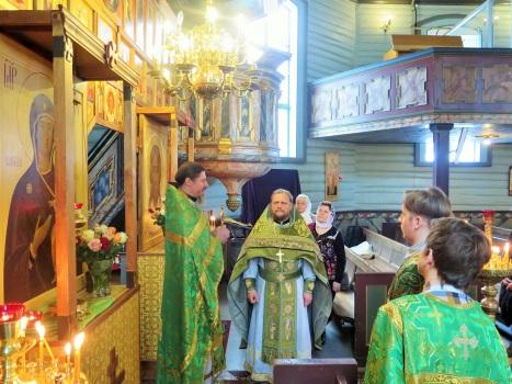 Поздравление отца Александра иереем Сергием Бондаревым