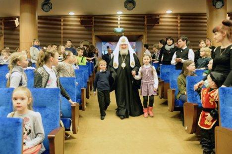 Патриарх и дети 4