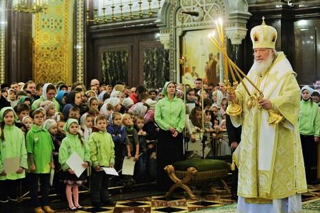 Патриарх и дети 5