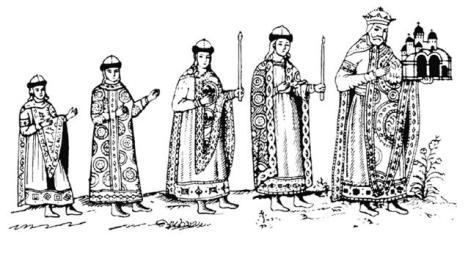 Фреска Ярослава Мудрого и его семьи в Софийском соборе Киева