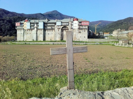Иверский монастырь с Чудотворной Иверской иконой Богородицы