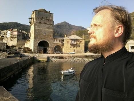 Пристань Иверского монастыря