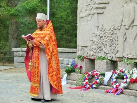 Молитва о всех, за  Отечество жизнь свою отдавших