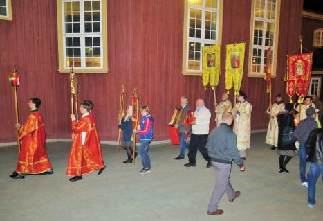 Пасхальный крестный ход в Тронхейме